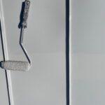 Y様邸外壁塗装・屋根塗装工事 屋根上塗り2回目中1写真/大阪市住吉区・東住吉区の外壁・屋根塗装専門店 ペイントプロ