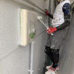 O様邸外壁塗装・屋根塗装工事 外壁E塗装工事写真/大阪市住吉区・東住吉区の外壁・屋根塗装専門店 ペイントプロ