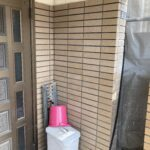 O様邸外壁塗装・屋根塗装工事 高圧洗浄前/大阪市住吉区・東住吉区の外壁・屋根塗装専門店 ペイントプロ