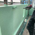 O様邸外壁塗装・屋根塗装工事 外壁A塗装工事写真/大阪市住吉区・東住吉区の外壁・屋根塗装専門店 ペイントプロ