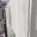 M様邸外壁塗装工事 外壁塗装中塗写真/大阪市住吉区・東住吉区の外壁・屋根塗装専門店 ペイントプロ