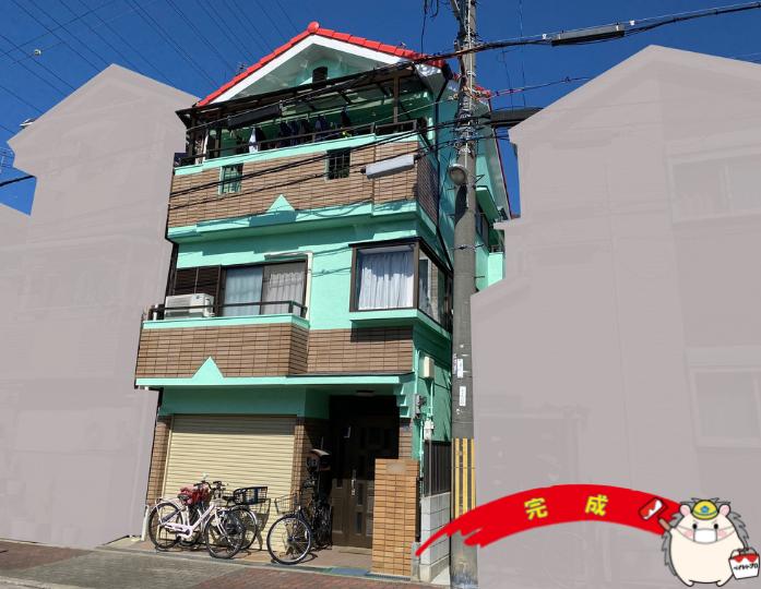 大阪市住吉区 O様邸 外壁塗装・屋根塗装工事